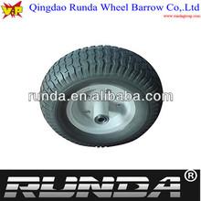 wheelbarrow solid pu wheel 13x5.00-6
