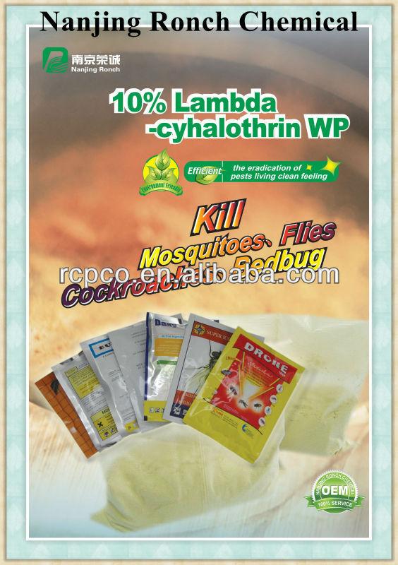 Lambda - cyhalothrin inseticida - lambda - cyhalothrin 2.5%, 5% ce, 4%, 10% sc, 10% 20% WP