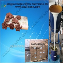Tin Cure Silicone Rubber For Resin Products Mold Making