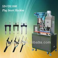 Automatic plug wire terminal crimping machine