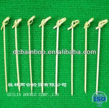 Natural bamboo knot sticks