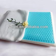 Ventilate bamboo memory foam car sleeping pillow