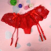 Red hot sexy garter belt,sexy lingerie set,sexy lingerie