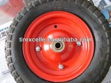 3.00-4 pneumatic rubber wheel