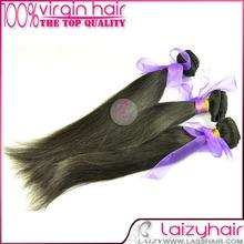 12-36 inch abundant stock virgin peruvian silky straight hair extension