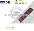 roja española de arcilla tejas para la venta