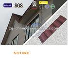 Portuguese clay aluminium-zinc volcanic stone coated metal roof tile
