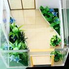 3D architecture scale model garden,miniature fairy garden