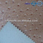 SGX2151 Classical Embossed Pattern PVC Ostrich Skin Leather