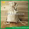 Small cotton blank drawstring bag