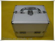 aluminum carrying storage makeup case aluminum beauty case for Eyelash