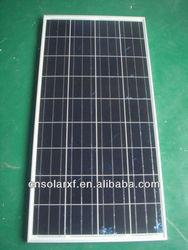 Hot sale price per watt solar panel 130W in China