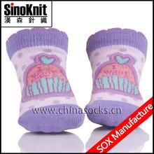 100% Cotton Newborn Baby Socks