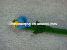 lovely polymer clay fimo flower ballpen