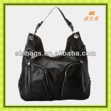 2015 alibaba China ladies snake print genuine leather famous brand handbag fashion