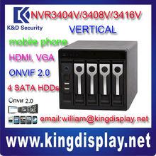 cheap dahua NVR3404V/NVR3408V/NVR3416V NVR 4/8/16 ch. Onvif2.0 Free cms software Iphone ipad android monitor support