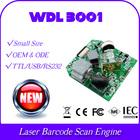 WDL3001 leadership 1D laser barcode scanning engine module model rs232