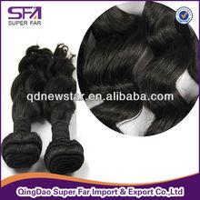 Body wave brazilian virgin hair weaving, double weft