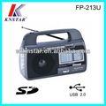Schinken FM/AM/sw1-2 radio mit usb/sd-buchse