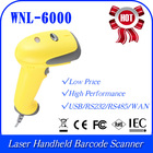 WNL-6000 USB RS232 RS485 Interface factory price handheld barcode scanner