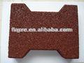 Reciclagem de borracha paver/cão- osso pavimentos/cavalo tijolo de borracha