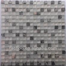 Rachoo wall decorate glass mix marble mosaic