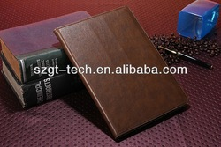 2014 leather case for ipad air, for ipad 5 leather case, for ipad 5 case