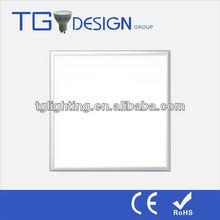 36w 600x600 3000k warm white led flat panel light, white frame