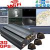 4 CH 3G live video embedded mobile car recorder dvr H.264 G-sensor vehicle fleet MDVR GPS