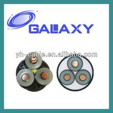 0.6/1KV XLPE/PVC/STA/SWA/LV/HV/MV 3cores 4cores power cable