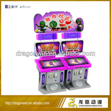 Dragonwin simulator coin operated arcade fruit ninja touch screen video game machine