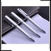 Metal stylish pen with custom logo; parker ink refill pen;metal mechanism pen for logo
