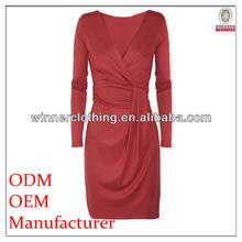 ladeis' fahison solid knitting elegant direct factory ladies fashion formal work dresses