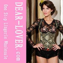 2013 Wholesale sex photo girl corset lingerie