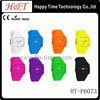Popular Bright Color Silicone Nixonning Watch