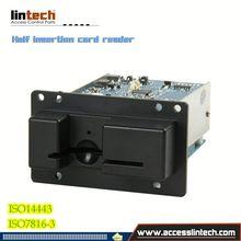 New Embed Manual insertion rfid card reader/usb card reader for pc case