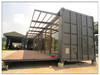 Mobile modified standard sea container house for accommodation