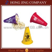 Megaphone With Popcorn Cap /Plastic Toy Megaphone