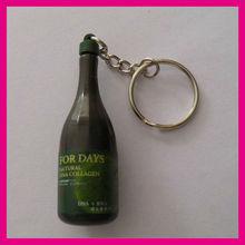 bottle shape key holder, bottle shape key tag, bottle shape key chain