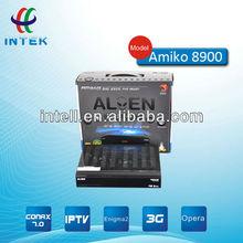 amiko 8900 hd decoder with IPTV support wifi 3G Modern