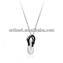 cheap classic custom stainless steel pendant fashion necklaces jewelry summer fashion