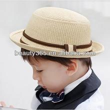 New Vintage Wire Boy Children Gentleman Fedora Cap Hat Headwear