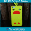 high quality animal silicone phone case for iphone 5