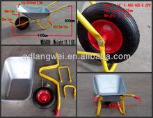 Russia solid tire wheel barrow