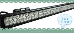 234W CREE 16380lm led lights bar