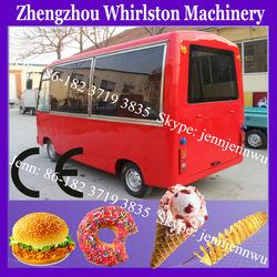 mini-bus electric mobile vending carts for sale 2013