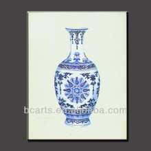 Hand painted Classic Still Life porcelain flower vase Antique painting designs