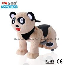 walking panda plush toy