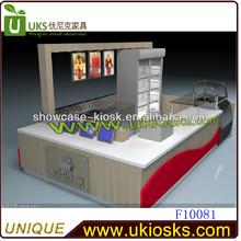 2014 food display mall kiosk,mall kiosk design,bakery display kiosk