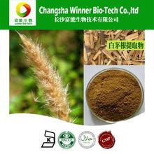 Fuente de la fábrica de rizoma cogongrass 10:1 extracto en polvo